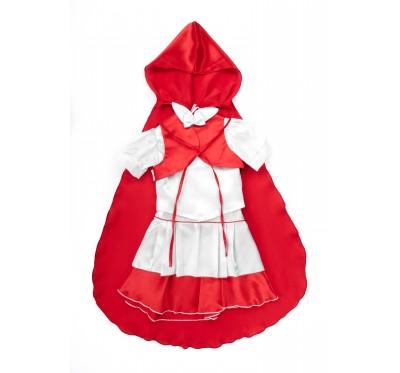 """Costum 4 Piese """"Scufița Roșie"""""""